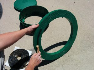 Step 3 - Apply Butyl Rope To Tank Adapter Ring
