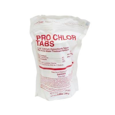Pro Chlor Tabs - Septic Chlorine Tablets - 2lb