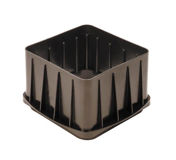 Tuf-Tite B1 11x11 Square Riser For 4 Hole Distribution Box