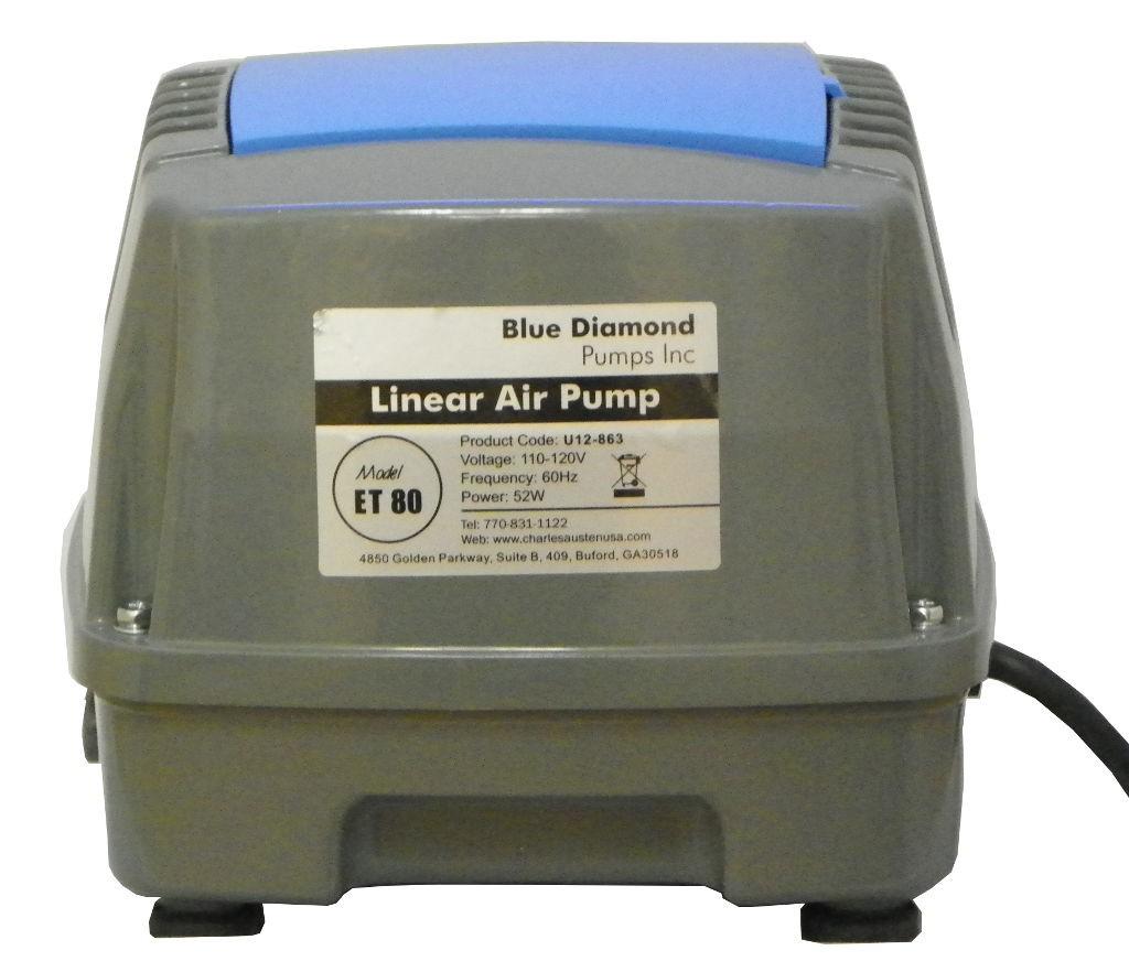 Blue Diamond ET80 Septic Air Pump - Pond Air Pump