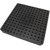 "Tuf-Tite 11""x11"" B1-DG: Drain Grate (Black) - For 4 Hole Distribution Boxes"