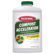 Roebic Compost Accelerator 100% Natural - 2.5 lbs