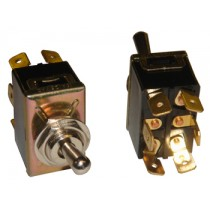 6 Prong Toggle Switch for Septic Control Panel and Alarm (Mute/Test/Run)