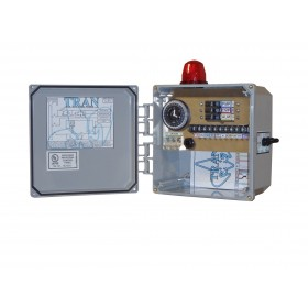 Tran-T2 Aerobic Septic Control Panel With Timer - With Pressure Sensor