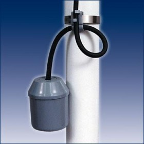 SJE Rhombus Junior Super Single Submersible Sump Pump Float Switch 10Ft (Normally Open/Pump Down)