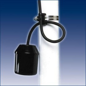 SJE Rhombus Sensor Float Mini Sump Pump Switch Submersible 10Ft (Normally Open/Pump Down)