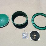 Install septic risers