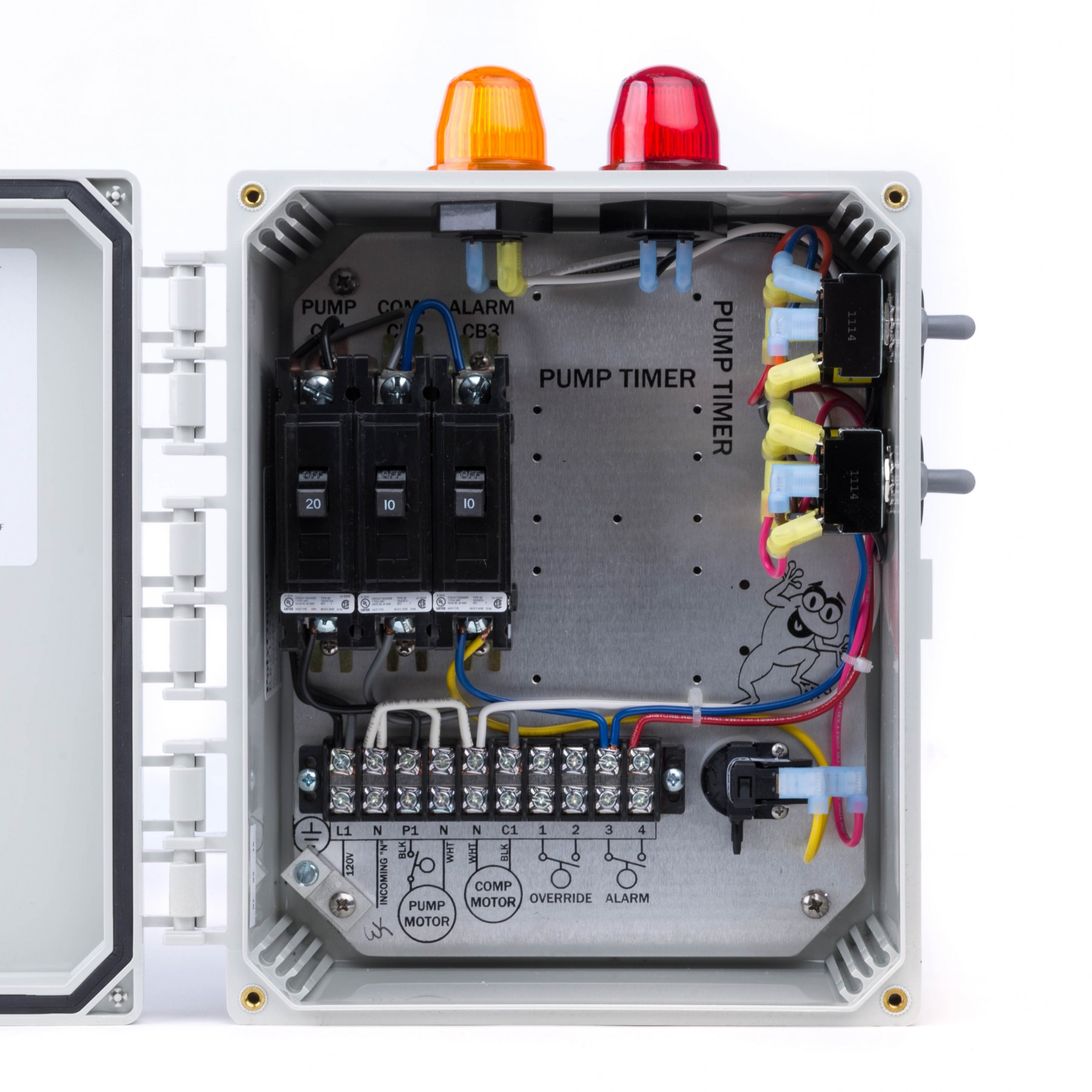Spi Bio B Double Light Control Panel For Aerobic Septic