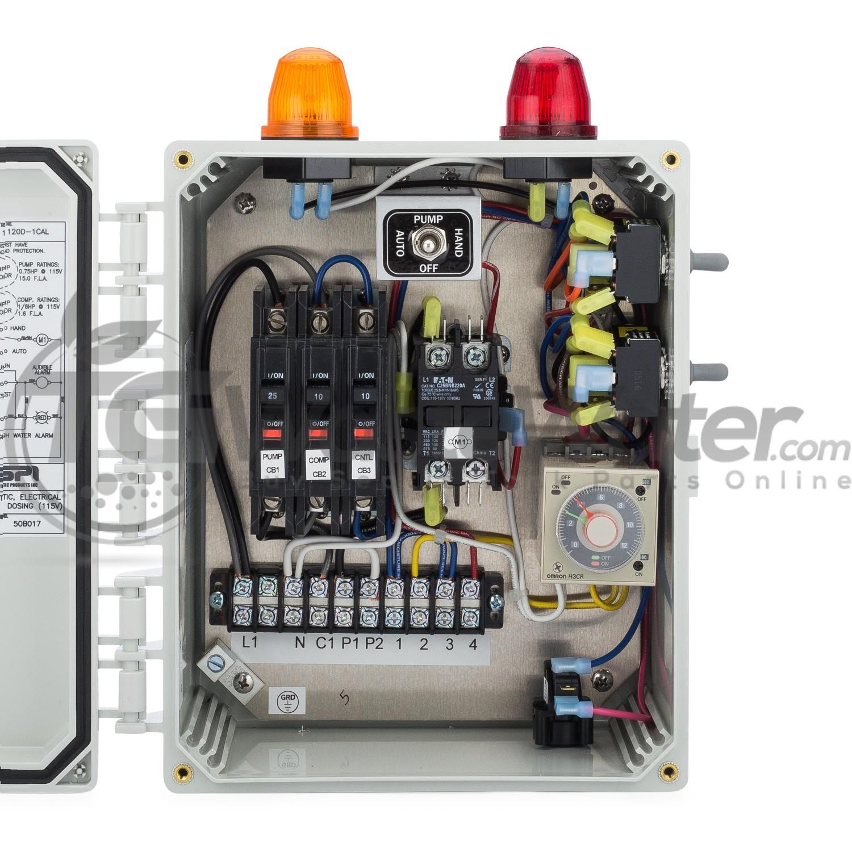 SPI BIO Aerobic Time Dosing Control Panel For Aerobic