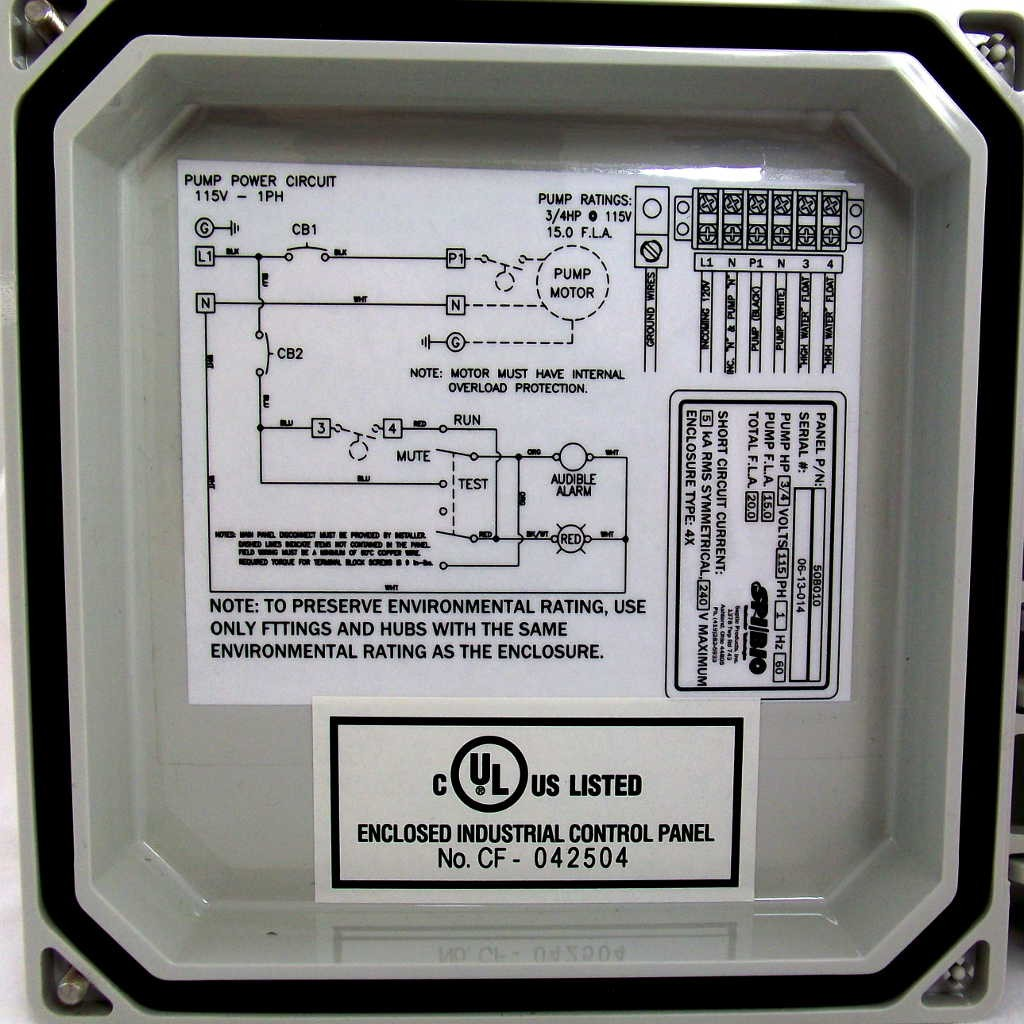 spi_bio_50b010_hwap_003 spi bio pump control panel with high water alarm (model 50b010 wiring diagram septic tank control at soozxer.org