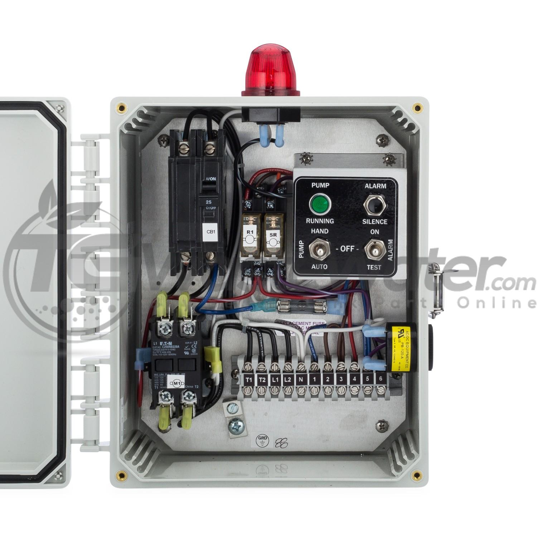 SPI Simplex Control Panel Model (208/230V) - 50A002 / SSC2B