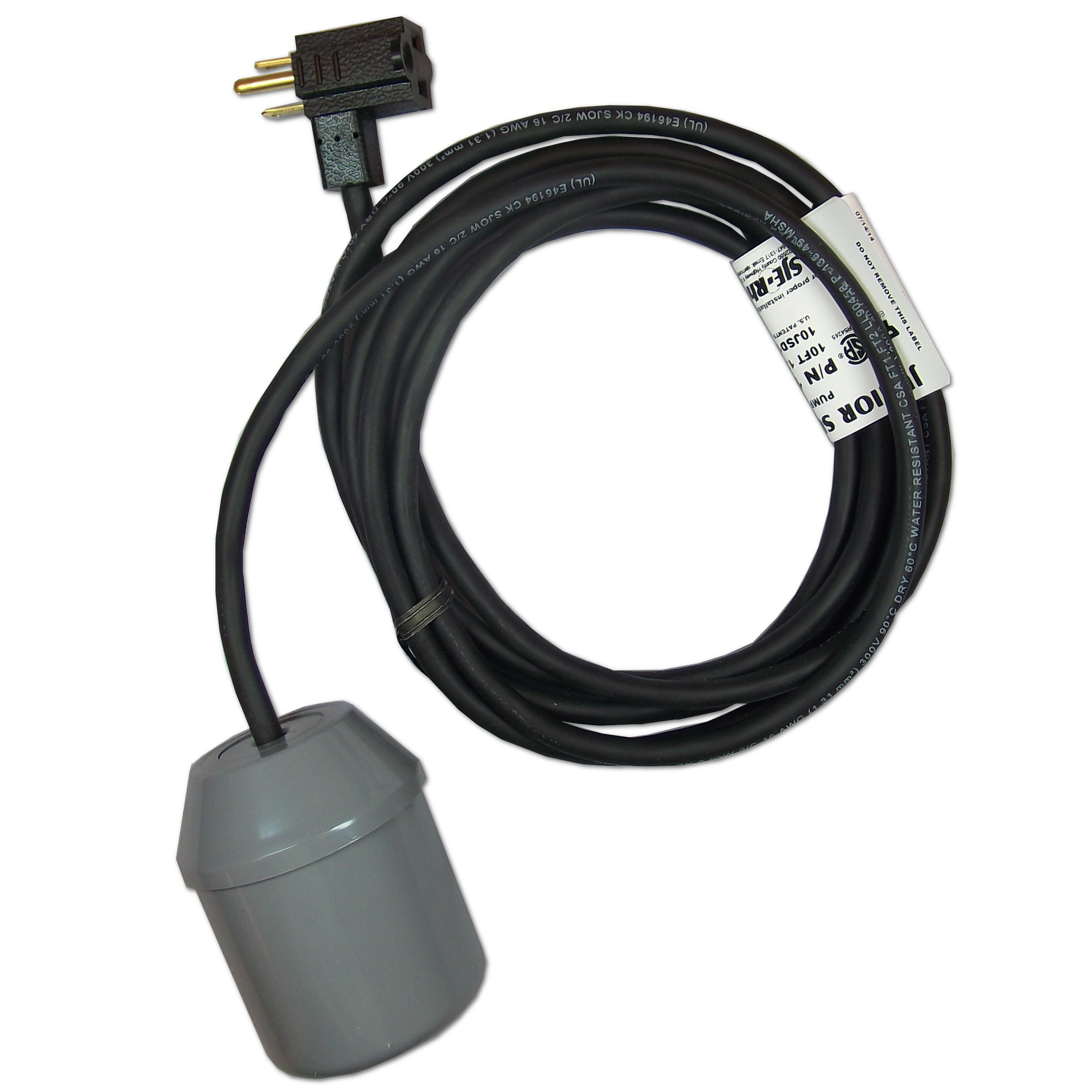 SJE Rhombus Junior Super Single Pump Float Switch With \