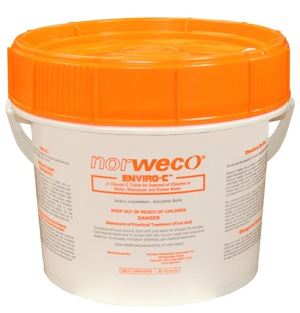 Norweco Enviro-C Dechlorination Tablets 5lb