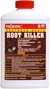 Roebic K 77 Root Killer For Sewer And Septic Pipes 2lb