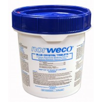 Norweco Blue Crystal Residential Disinfecting Tablets 10lb
