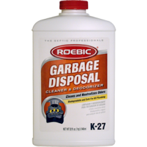 Roebic K-27 - Garbage Disposal Cleaner & Deodorizer