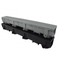 "Polylok Heavy Duty Channel & Trench Drain 4"" x 48"" (PL-90860) (Black)"