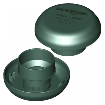 Polylok Air Vent - Green