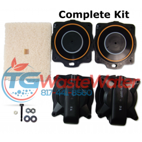 Hiblow HP 100-120 Rebuild Kit
