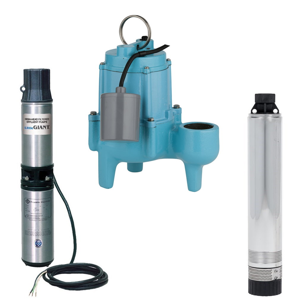 Septic Submersible Water Pumps